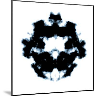 Rorschach-magann-Mounted Art Print