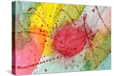 Abstract Hot Spot-M@Benoit-Stretched Canvas Print