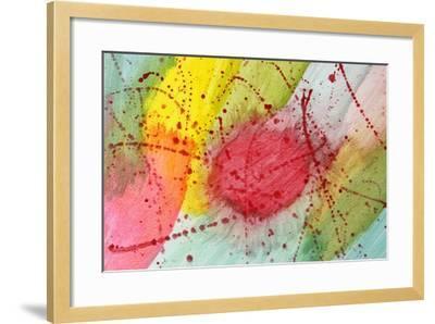 Abstract Hot Spot-M@Benoit-Framed Art Print
