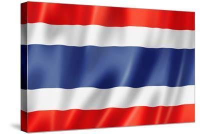 Thai Flag-daboost-Stretched Canvas Print