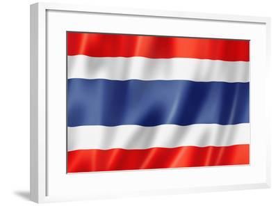 Thai Flag-daboost-Framed Art Print