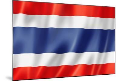 Thai Flag-daboost-Mounted Art Print