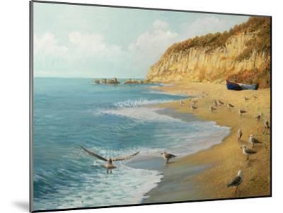 The Beach-kirilstanchev-Mounted Art Print