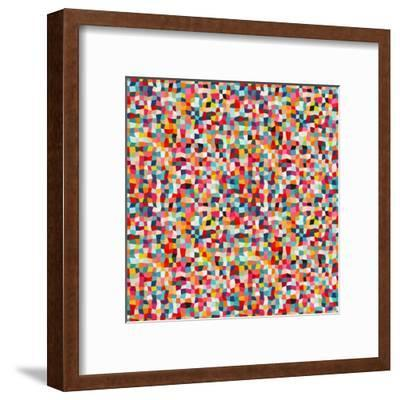 Abstract Pattern-Magnia-Framed Art Print