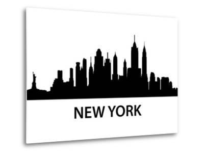 Skyline New York-unkreatives-Metal Print