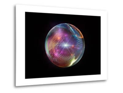 Fractal Ball-agsandrew-Metal Print