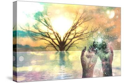 Spiritual Composition-rolffimages-Stretched Canvas Print