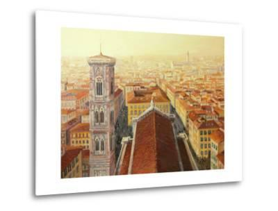 Flight Over Florence-kirilstanchev-Metal Print