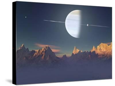 Imaginary Landscape-Medardus-Stretched Canvas Print
