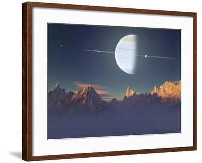 Imaginary Landscape-Medardus-Framed Art Print