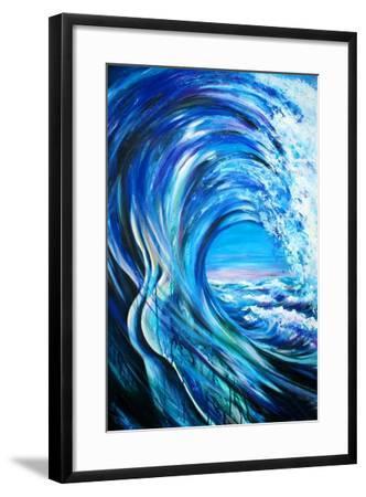 Wave-DannyWilde-Framed Art Print