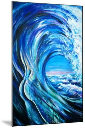 Wave-DannyWilde-Mounted Art Print