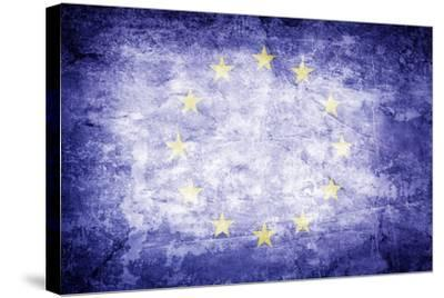 Eu Flag-kwasny221-Stretched Canvas Print