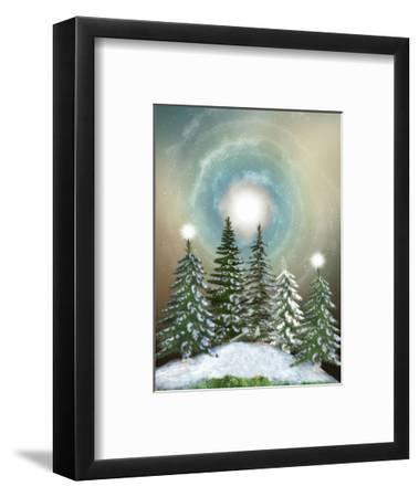 Winter-justdd-Framed Premium Giclee Print