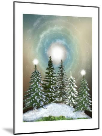 Winter-justdd-Mounted Premium Giclee Print