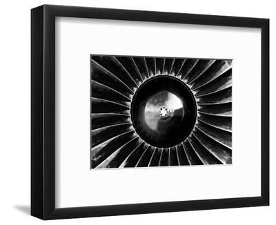 Turbine-Gudella-Framed Art Print