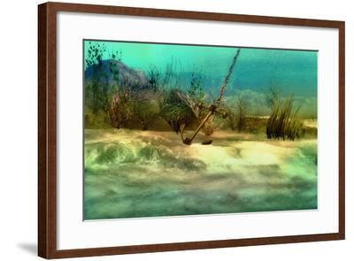 Anchor-Atelier Sommerland-Framed Art Print