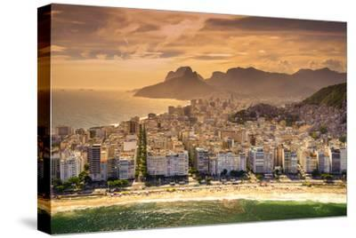Copacabana Beach-CelsoDiniz-Stretched Canvas Print