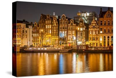 Amsterdam-badahos-Stretched Canvas Print