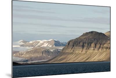 Landscape, Sassenfjorden, Spitsbergen, Svalbard, Norway-Steve Kazlowski-Mounted Photographic Print