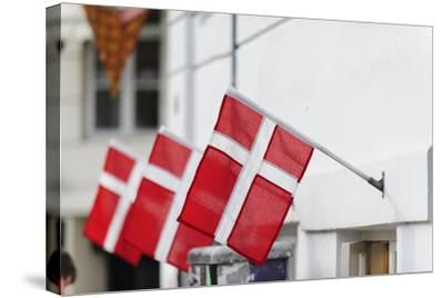 Street Scenes from Nyhavn, Copenhagen, Sjaelland, Denmark-Fredrik Norrsell-Stretched Canvas Print