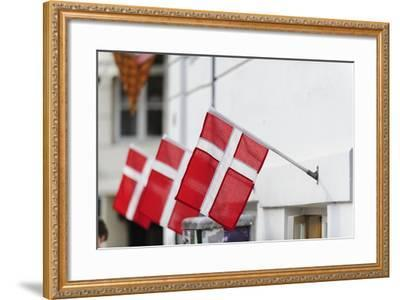 Street Scenes from Nyhavn, Copenhagen, Sjaelland, Denmark-Fredrik Norrsell-Framed Photographic Print