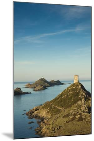 View of the Iles Sanguinaires at Dawn, Ajaccio, Corsica, France-Walter Bibikow-Mounted Photographic Print
