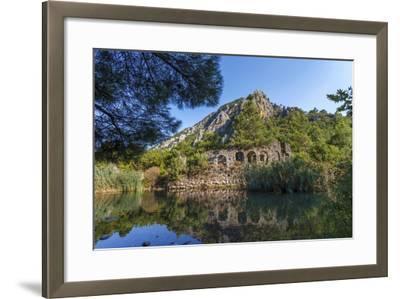 Ruins in Olympos, Antalya, Turkey-Ali Kabas-Framed Photographic Print