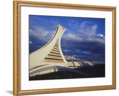 Olympic Stadium, Montreal, Quebec, Canada-Walter Bibikow-Framed Photographic Print