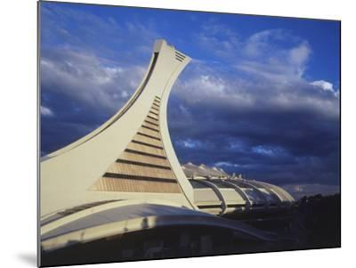 Olympic Stadium, Montreal, Quebec, Canada-Walter Bibikow-Mounted Photographic Print