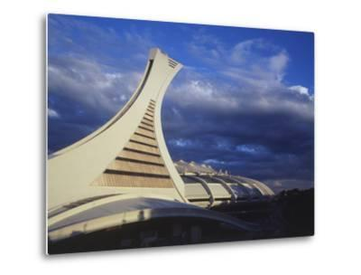 Olympic Stadium, Montreal, Quebec, Canada-Walter Bibikow-Metal Print