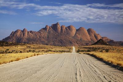 Road to Spitzkoppe, Namibia-David Wall-Framed Photographic Print