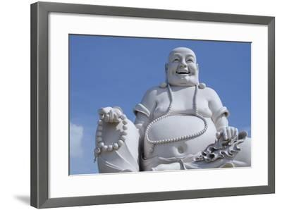 Big Happy Buddha Statue, My Tho, Vietnam-Cindy Miller Hopkins-Framed Photographic Print