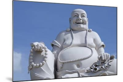 Big Happy Buddha Statue, My Tho, Vietnam-Cindy Miller Hopkins-Mounted Photographic Print