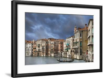 A Gondola on the Grand Canal, Venice, Italy-Jaynes Gallery-Framed Photographic Print