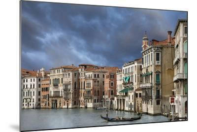 A Gondola on the Grand Canal, Venice, Italy-Jaynes Gallery-Mounted Photographic Print