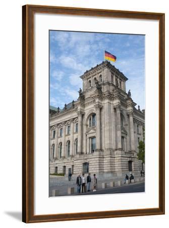 Bundestag, Berlin, Germany-Inger Hogstrom-Framed Photographic Print
