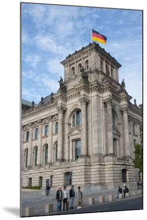 Bundestag, Berlin, Germany-Inger Hogstrom-Mounted Photographic Print
