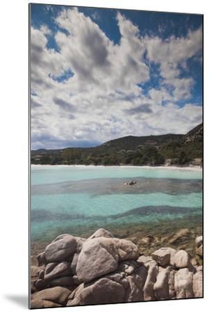 Plage De Palombaggia Beach, Porto Vecchio, Corsica, France-Walter Bibikow-Mounted Photographic Print
