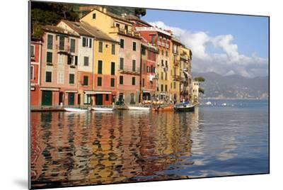 Riviera of Portofino, Italy-Kymri Wilt-Mounted Photographic Print