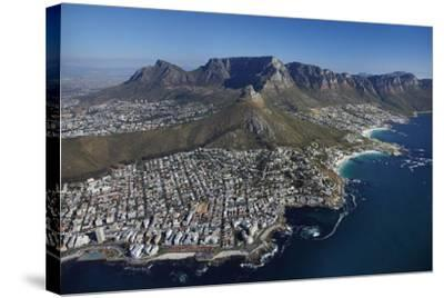 Bantry Bay, Clifton Beach, Lion's Head, Cape Town, South Africa-David Wall-Stretched Canvas Print
