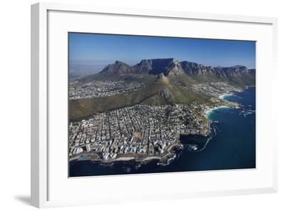 Bantry Bay, Clifton Beach, Lion's Head, Cape Town, South Africa-David Wall-Framed Photographic Print