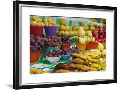 Local Fruit and Vegetables at a Market in San Juan Chamula, Mexico-Michel Benoy Westmorland-Framed Photographic Print