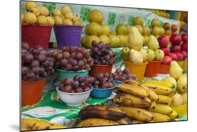 Local Fruit and Vegetables at a Market in San Juan Chamula, Mexico-Michel Benoy Westmorland-Mounted Photographic Print