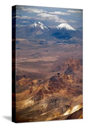 Western Cordillera Occidental, Chile-Bolivia Border-Anthony Asael-Stretched Canvas Print