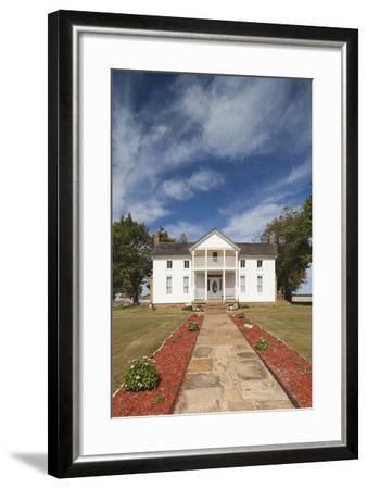 Will Rogers Birthplace, Oologah, Oklahoma City, Oklahoma, USA-Walter Bibikow-Framed Photographic Print