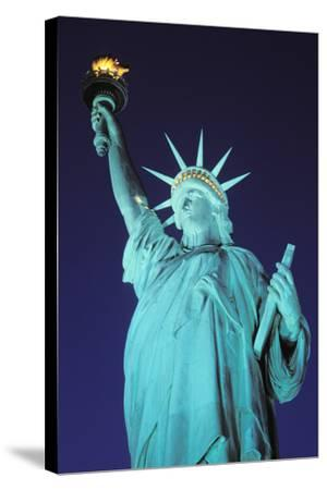 Statue of Liberty, New York, USA-Peter Bennett-Stretched Canvas Print
