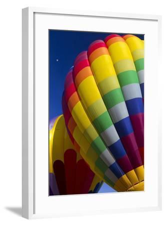 Hot Air Balloon Closeup, Albuquerque, New Mexico, USA-Maresa Pryor-Framed Photographic Print
