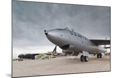 Boeing B-47, Kansas Aviation Museum, Wichita, Kansas, USA-Walter Bibikow-Mounted Photographic Print