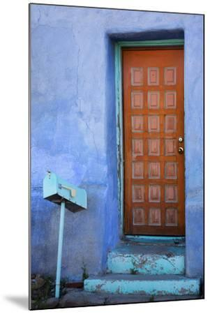Colorful Doorway, Barrio Historico District,Tucson, Arizona, USA-Jamie & Judy Wild-Mounted Photographic Print